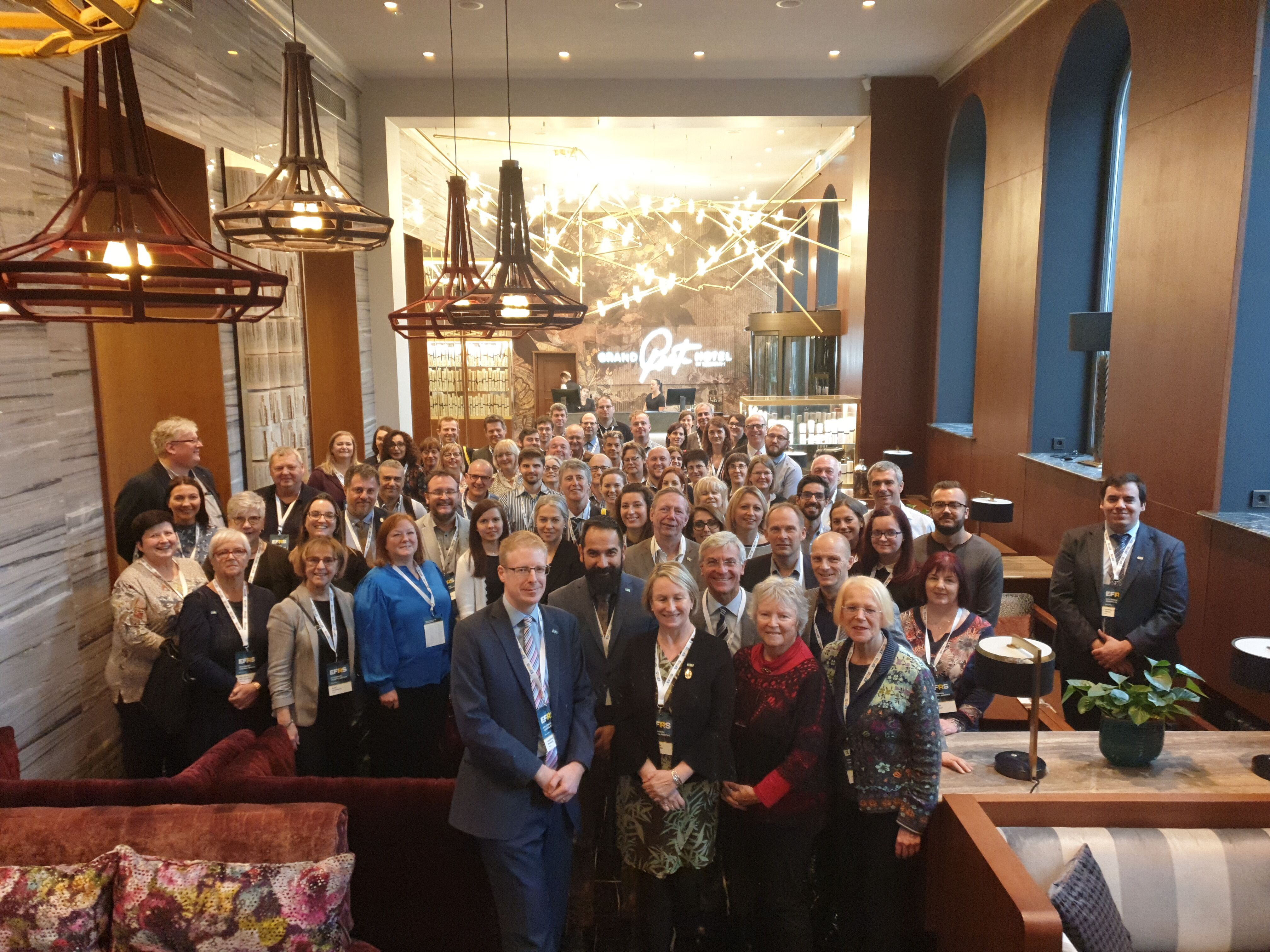 Novetats de l'Annual General Meeting (AGM) del European Federation of Radiographers Society EFRS.